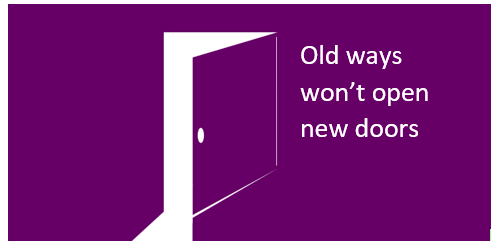 Can old ways really open new doors